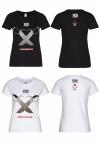 Streetwear Damen T-Shirt - Doppelmesser