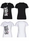 Streetwear Damen T-Shirt - WIN GTSUN Frontprint