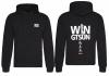 Streetwear Hoodie - WIN GTSUN Backprint
