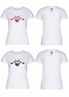 Streetwear Damen T-Shirt - Nostalgie weiss